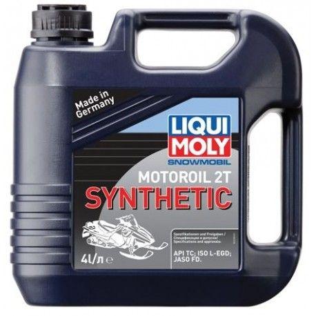 Масло моторное LIQUI MOLY Snowmobil Motoroil 2Т 4л  (синтетика)