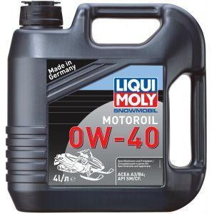 Масло моторное LIQUI MOLY Snowmobil Motoroil SAE 0W40 4л (синтетика)