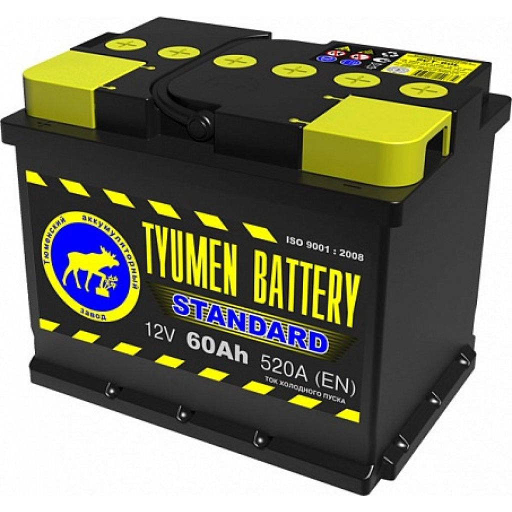 Аккумулятор TYUMEN Standart 6СТ-60 п/п