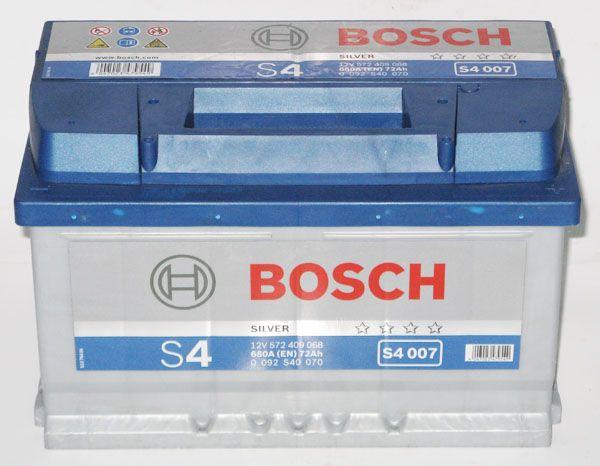 Аккумулятор BOSCH 72Ah S4 S40070 о/п
