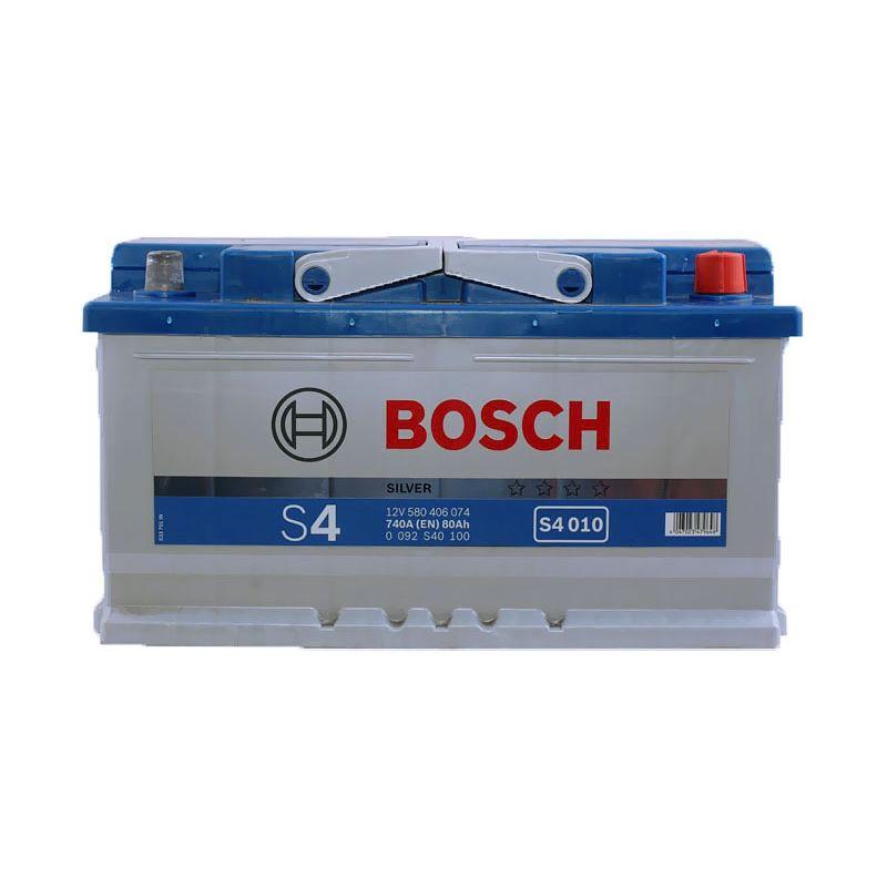 Аккумулятор BOSCH 80Ah S4 S40100 о/п