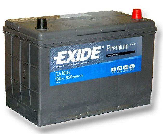 Аккумулятор EXIDE Premium 6СТ-100 о/п 850А