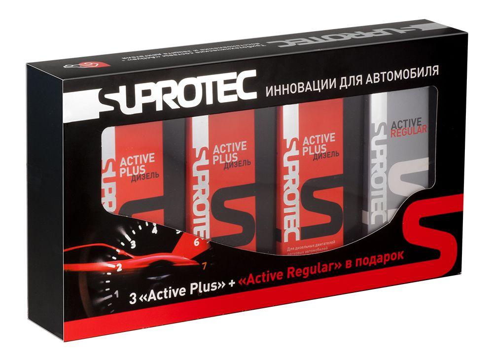 Смазка SUPROTEC Active Plus дизель+Active Regular (набор)
