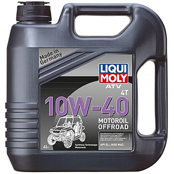 Масло моторное LIQUI MOLY ATV Offroad 4T SAE 10W40 4л (HC-синтетика)