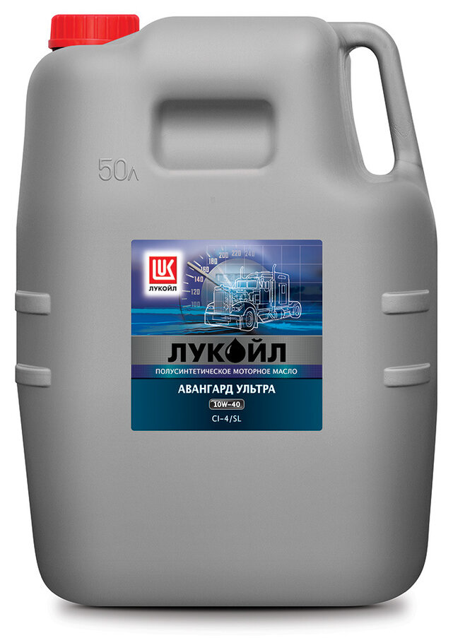 Масло моторное ЛУКОЙЛ АВАНГАРД Ультра Cl-4/SL SAE 10W40 50л (полусинтетика)