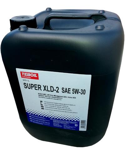 Масло моторное TEBOIL SUPER XLD-2 SAE 10W40 20л (18кг) (синтетика)