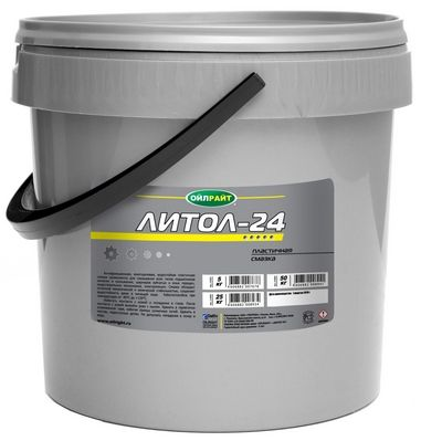 Смазка ОИЛРАЙТ Литол-24 пластичная 9,5кг