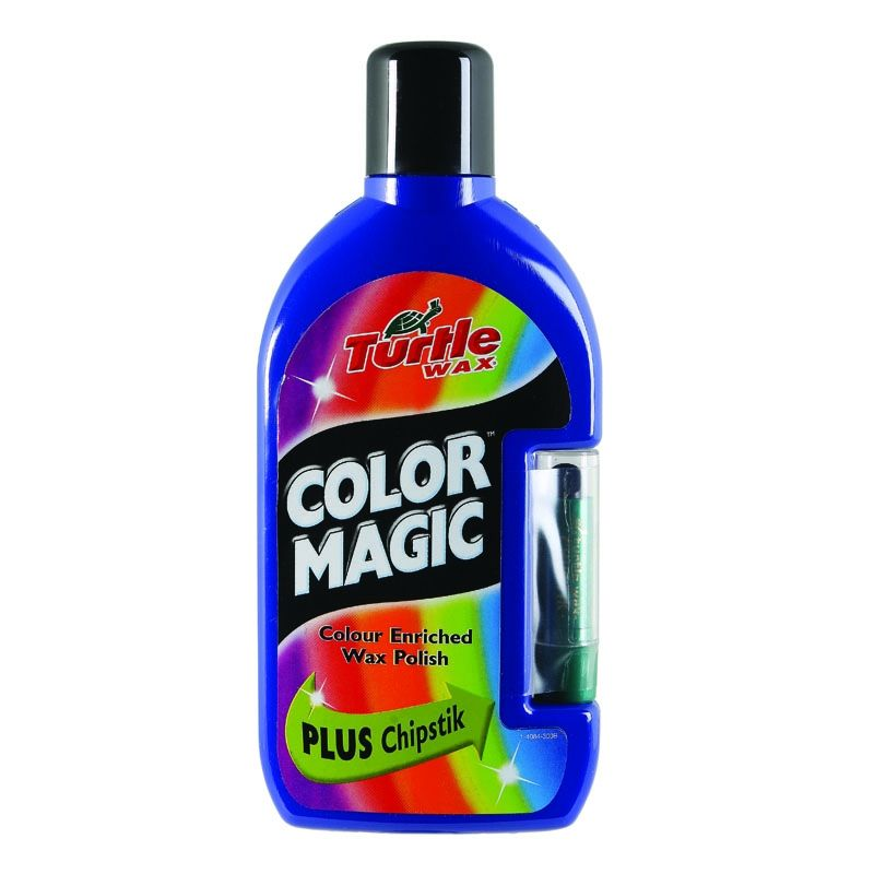 Полироль TURTLE WAX Color Magic темно-синий 500мл