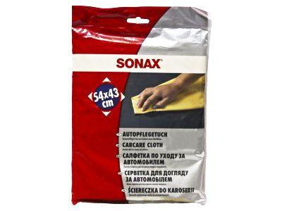 Салфетка SONAX из искуственной замши 54x43см