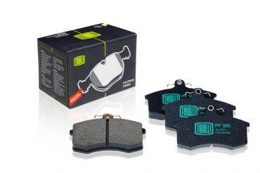 Колодки тормозные передние ВАЗ-2108-215, 1118,2170,2190 TRIALLI