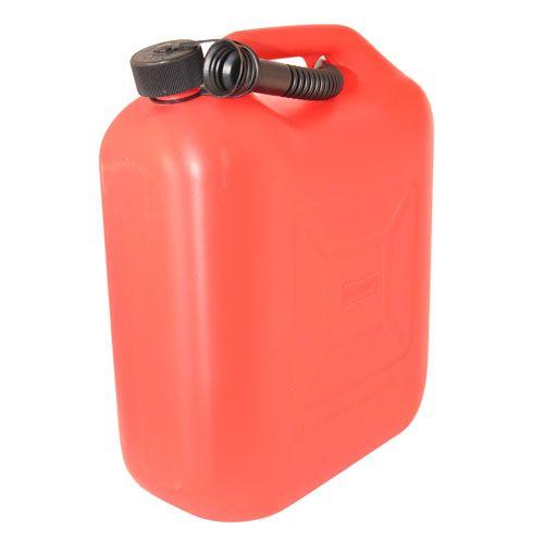Канистра для топлива пластик с носиком-лейкой 20л