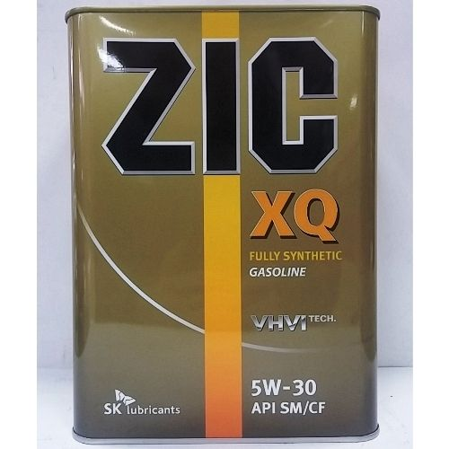 Масло моторное ZIC XQ SAE 5W30 4л (синтетика)