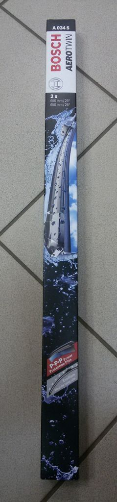 """Щетка стеклоочистителя BOSCH Аэротвин 650мм/26""""(2шт) А034S"""