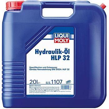 Масло гидравлическое LIQUI MOLY Hydraulikoil HLP 32 20л