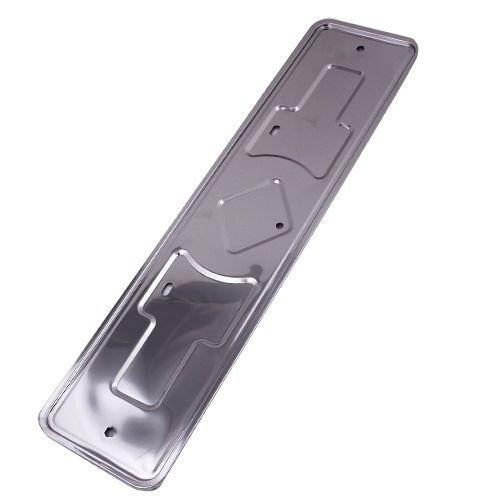 Рамка для номерного знака нерж.сталь Aisi430