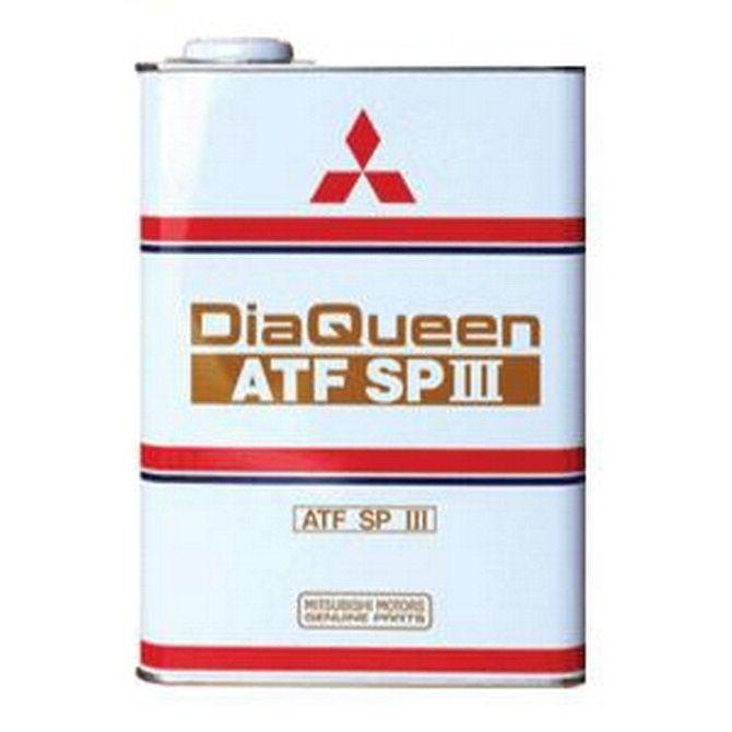 Масло трансмиссионное MITSUBISHI Dia-Queen ATF SP-III 4л