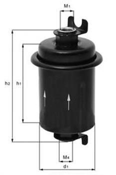 Фильтр топливный MAHLE KL132