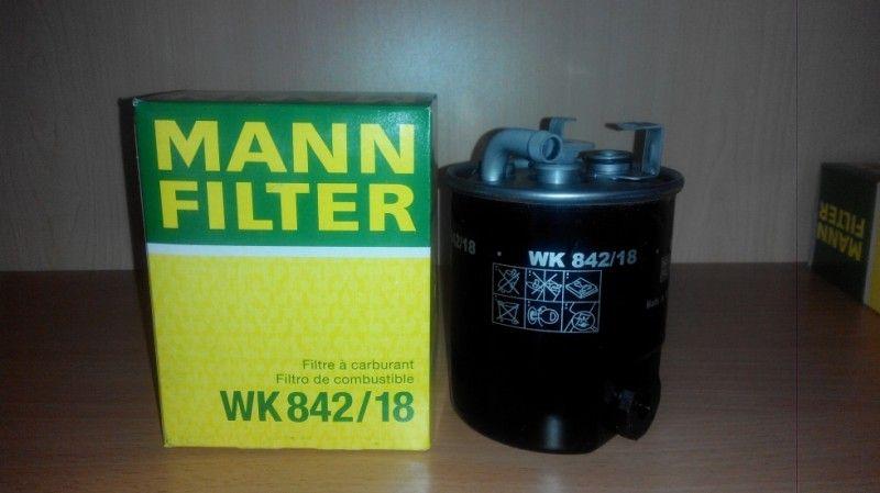 Фильтр топливный MANN WK842/18