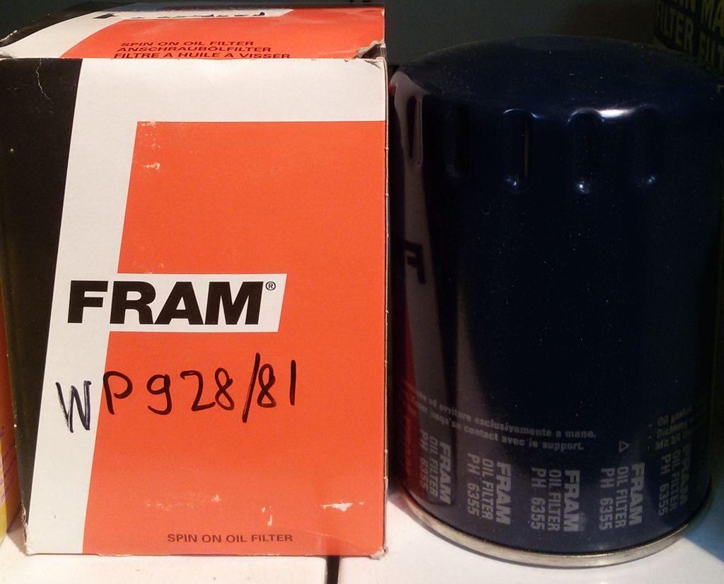 Фильтр масляный FRAM PH6355