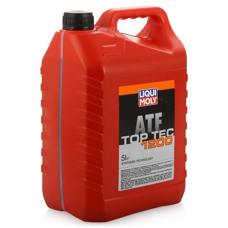 Масло трансмиссионное LIQUI MOLY для АКПП Top Tec-1200 ATF 5л (HC-Cинтетика)