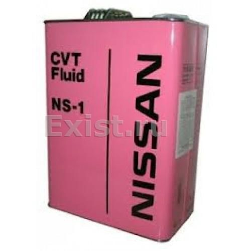 Масло трансмиссионное NISSAN CVT Fluid NS-1 4л