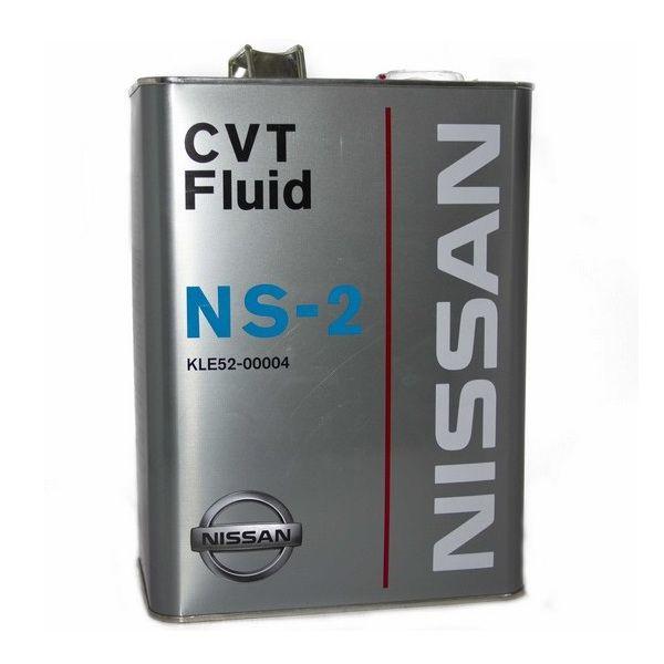 Масло трансмиссионное NISSAN CVT Fluid NS-2 для вариатора 4л