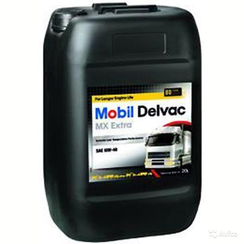Масло моторное MOBIL Delvac Extra MX  SAE 10W40 20л