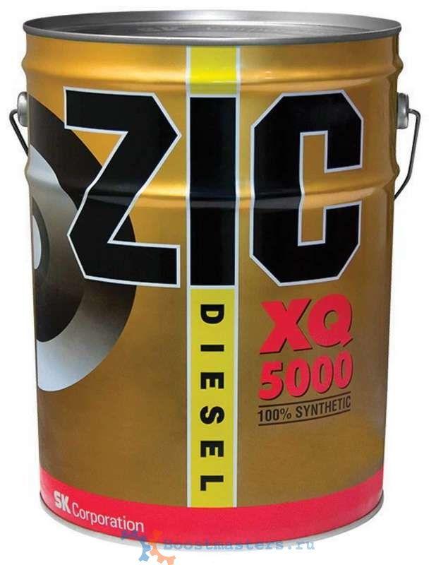 Масло моторное ZIC 5000 DIESEL SAE 5W30 20л (полусинтетика)