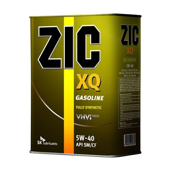 Масло моторное ZIC XQ SAE 5W40 4л (синтетика)