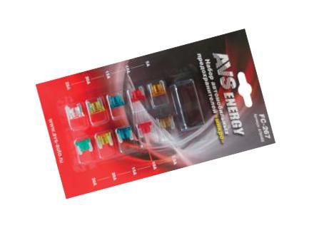 Предохранители AVS флажковые микро FC-267(10шт)