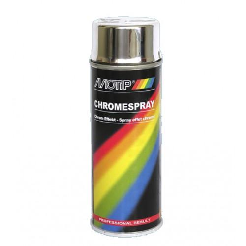 Краска MOTIP хром-эффект 400мл (аэрозоль)