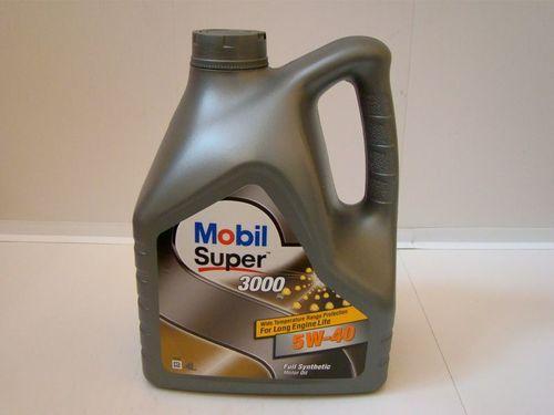 Масло моторное MOBIL Super 3000 SAE 5W40 4л (синтетика)