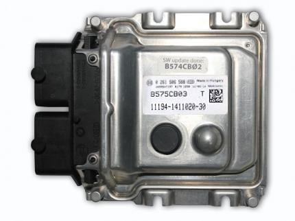 Блок управления ВАЗ-1118-19 дв.1,4л 16кл (ME17.9.7)  (0261S06588ENF) BOSHC