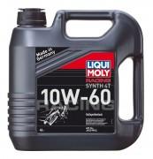 Масло моторное LIQUI MOLY Raсing Synth 4T SAE 10W60 4л (синтетика)