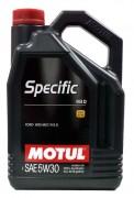 Масло моторное MOTUL Specific 913D SAE 5W30 5л (100%синтетика)