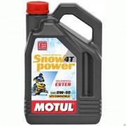 Масло моторное MOTUL SnowPower SAE 0W40 4л (синтетика)