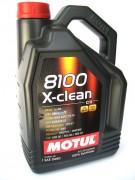 Масло моторное MOTUL 8100 X-clean С3 SAE 5W40 5л (100%синтетика)