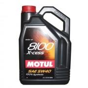 Масло моторное MOTUL 8100 X-cess SAE 5W40 5л (100%синтетика)