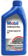 Масло моторное MOBIL Outboard Plus 1л (минеральное)