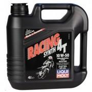 Масло моторное LIQUI MOLY Raсing Synth 4T SAE 10W50 4л (синтетика)+ DOT-4