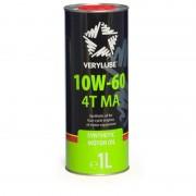 Масло моторное VERY LUBE 4T MA SAE 10W60 1л (синтетика)