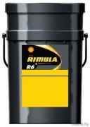 Масло моторное SHELL RIMULA R6 MS SAE 10W40 20л ( полусинтетика )