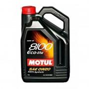 Масло моторное MOTUL 8100 Eco-lite SAE 0W20 5л (100%синтетика)
