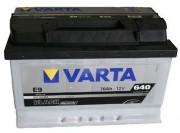 Аккумулятор VARTA Black  6СТ-70 о/п