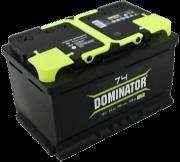 Аккумулятор DOMINATOR 6СТ-74 о/п низкий