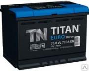 Аккумулятор TITAN Euro Silver 6CT-76.0 о/п