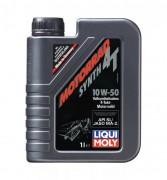 Масло моторное LIQUI MOLY Motorrad Street Race Synth 4T SAE 10W50 1л (синтетика)