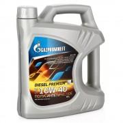 Масло моторное GAZPROMNEFT Diezel Premium SAE 10W40 5л