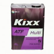 Жидкость трансмиссионная  KIXX ATF Multi 4л (синтетика)