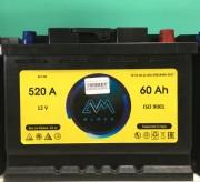 Аккумулятор AVM 6СТ-60 о/п